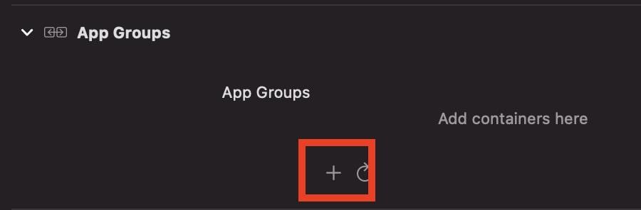 App-Groupsの追加2